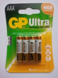 GP Batteries AAA Paristo ULTRA